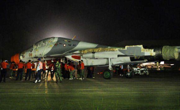 Sukhoi tiba di Makassar