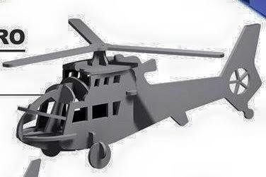 Cómo hacer un helicóptero de cartón