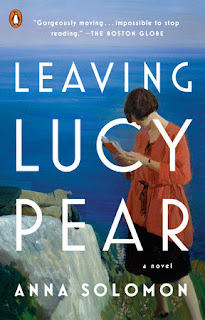 what i m reading: leaving lucy pear