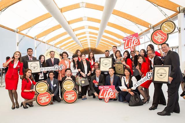 AirAsia Continues Skytrax Awards Winning Streak