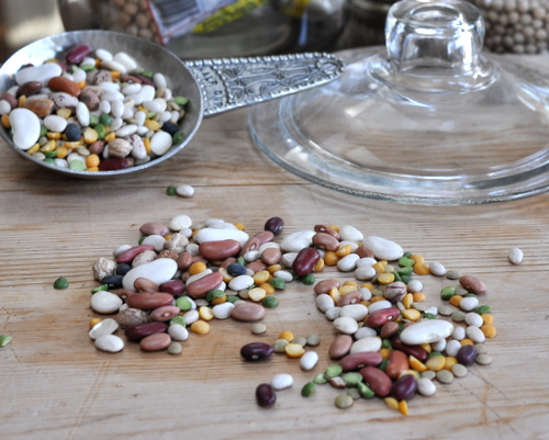 Why Dried Beans Won't Cook, Another Quick Tip ♥ KitchenParade.com.