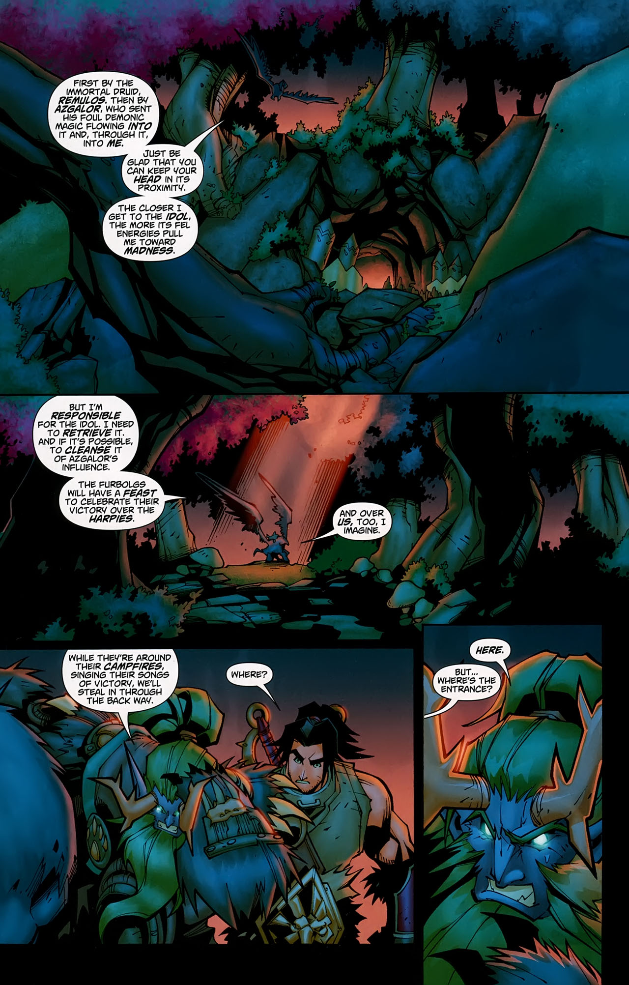 Read online World of Warcraft comic -  Issue #5 - 10