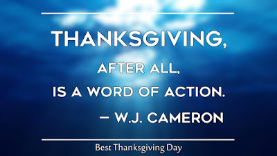 Short Happy Thanksgiving Day Sayings for Friends and Family