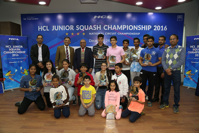 HCL Junior Squash Championship, which was one of the highest level tournaments in the country.