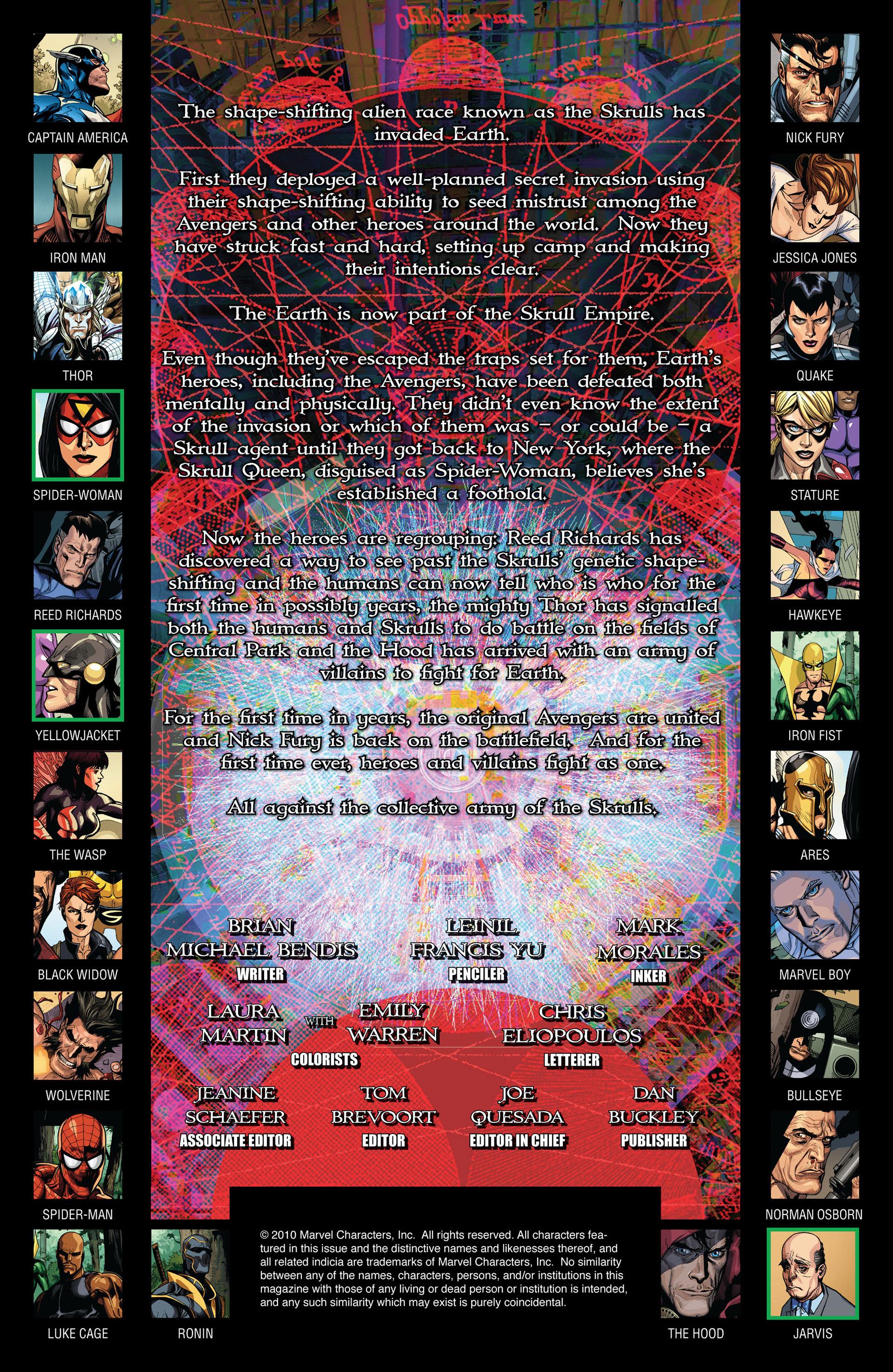 Read online Secret Invasion comic -  Issue #7 - 2