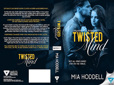 Cover Reveal: Twisted Mind Chequered Flag 2