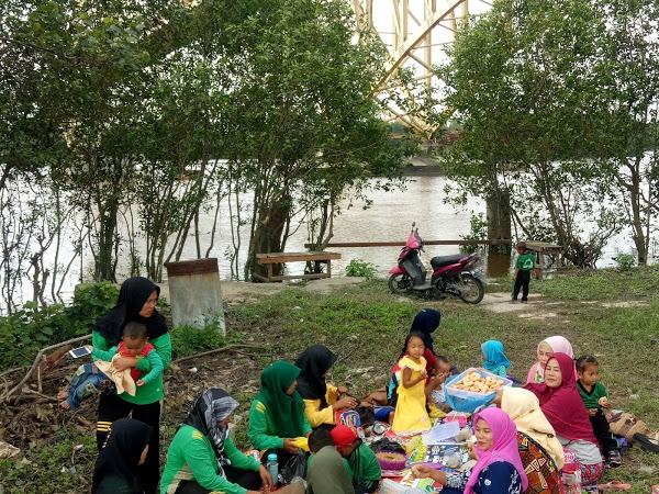 wisata Bj Go Green Sungai Tengah