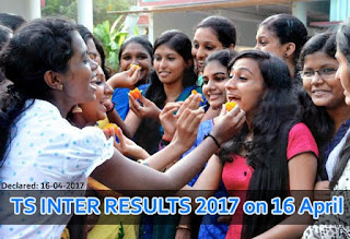 TS Inter Results 2017, Telangana Intermediate Results 2017, Manabadi Inter Results