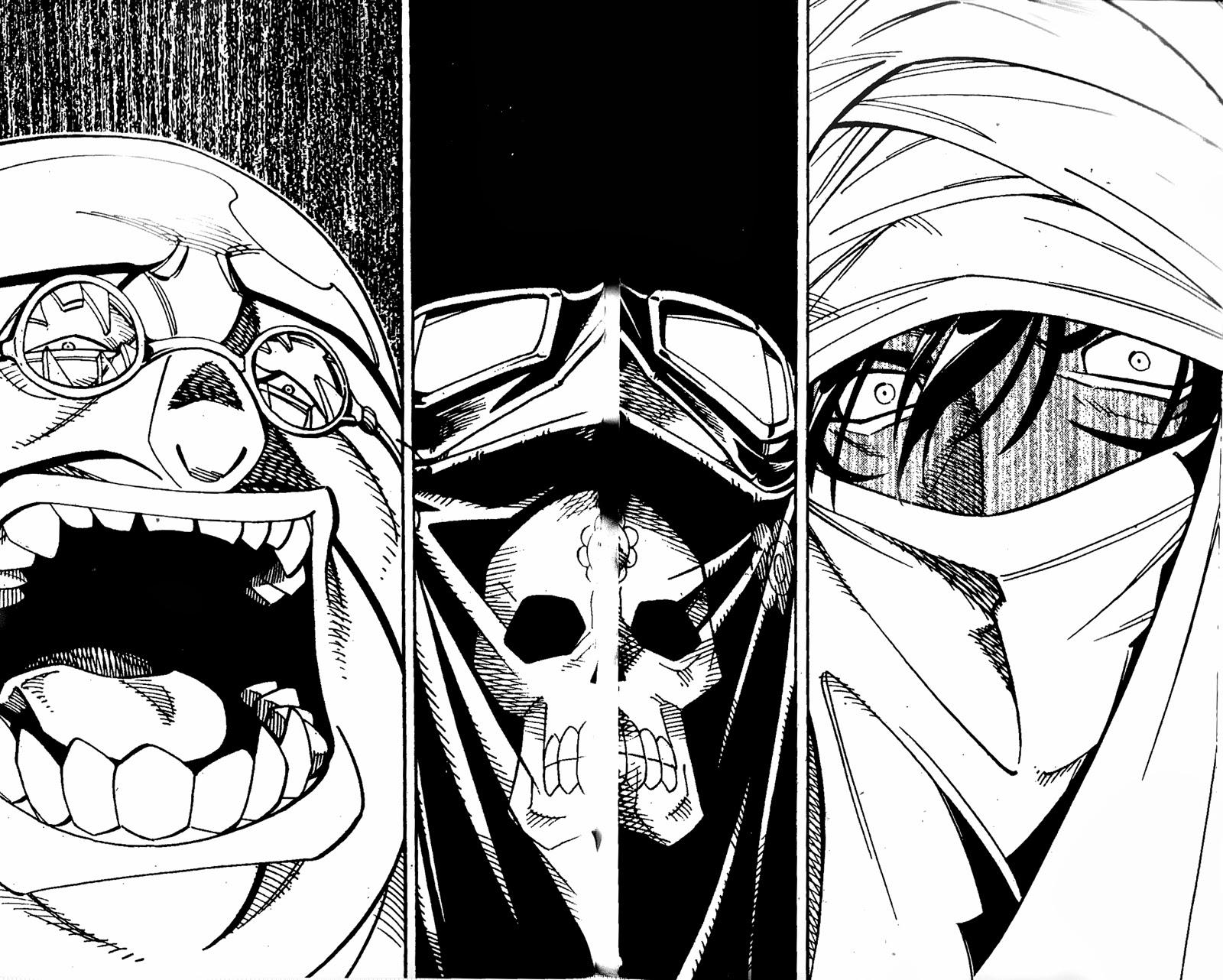 Shaman King [Vua pháp thuật] chap 152 trang 25