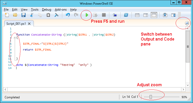 Powershell Tips: Tool #4 : Powershell ISE with Powershell v4 0