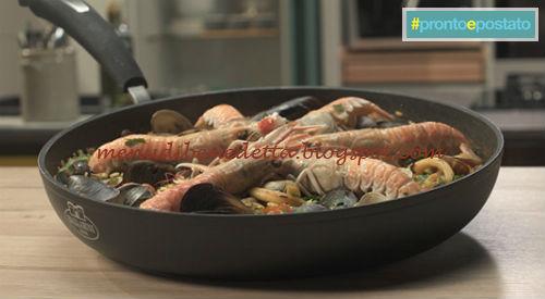 Pronto e postato - Paella di pesce ricetta Benedetta Parodi