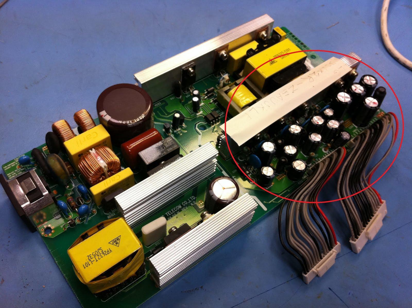 The Repair Blog: LG 32LX2R Faulty power supply