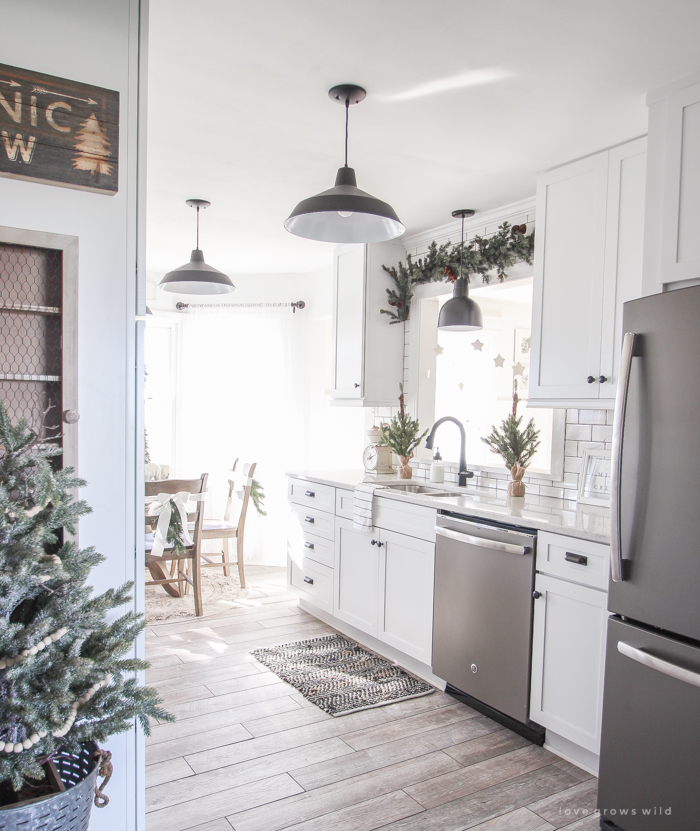 Christmas Kitchen: Holiday Home Envy