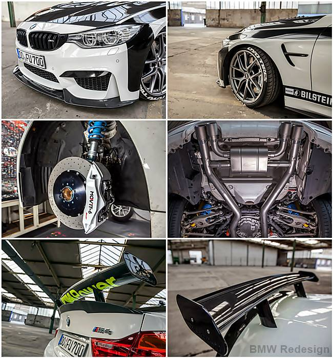 BMW M4 R Carbon Fiber Dynamics: F82 Tuning up to 700 HP