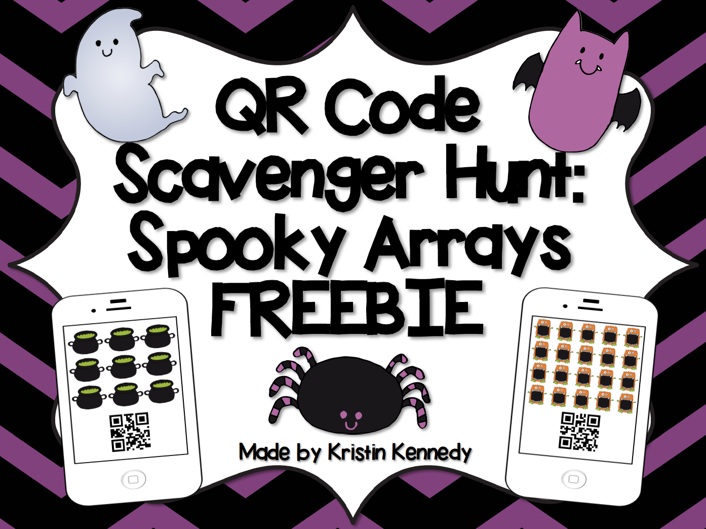 Iteach 1 1 Spooky Arrays And Halloween Crafts For The Home