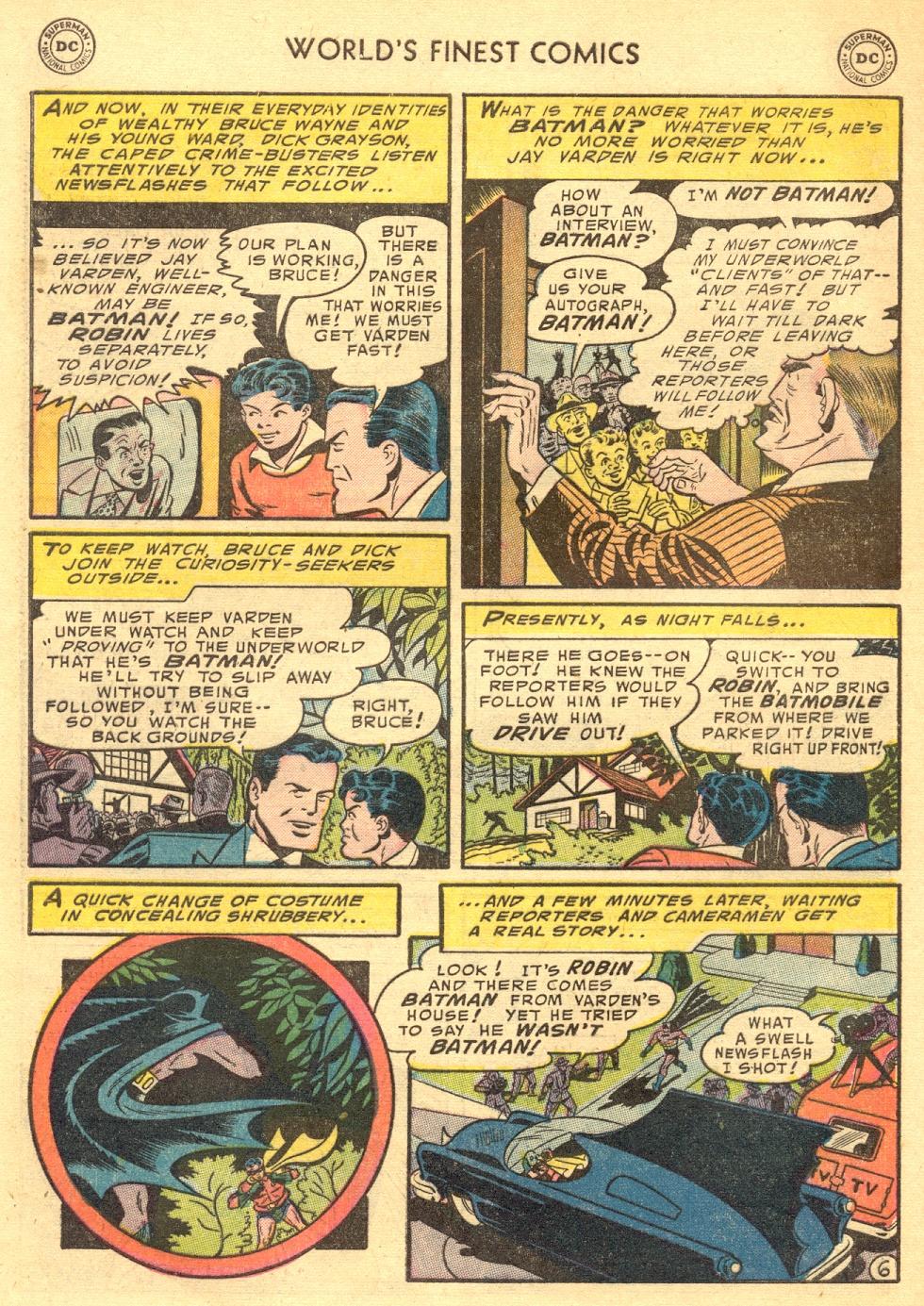 Read online World's Finest Comics comic -  Issue #70 - 60