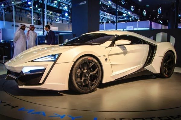 W Motors Lykan Hypersport Luxury Cars