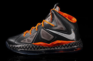 Nike LeBron X BHM Shoes