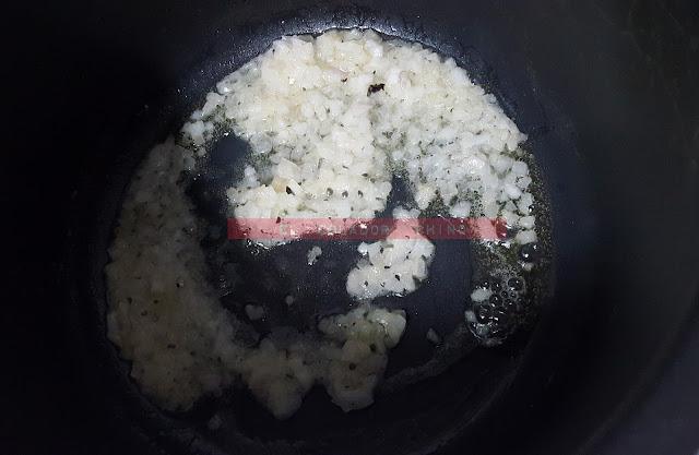 Mejillones con gorgonzola y Martini dry elcoladorchino