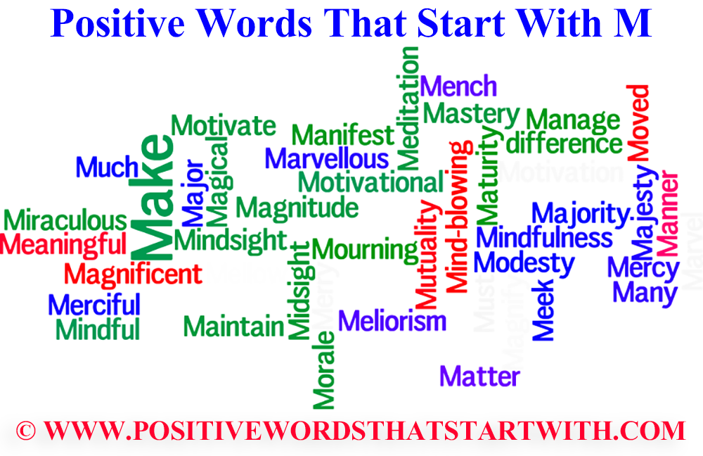 Positive Words That Start With