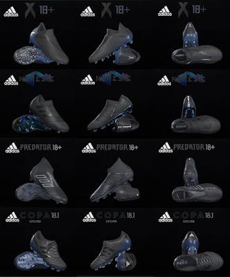 PES 2018 / PES 2017 Adidas Shadow Pack 2018 by Tisera09