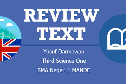"Download Powerpoint ""Review Text"" Bahasa Inggris SMA"