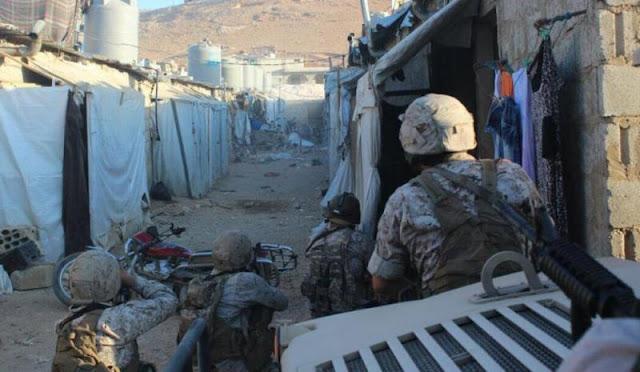 الجيش اللبناني: تم القبض على 50 عنصر من المتشددين