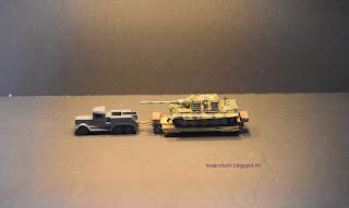 1/144 tank diorama