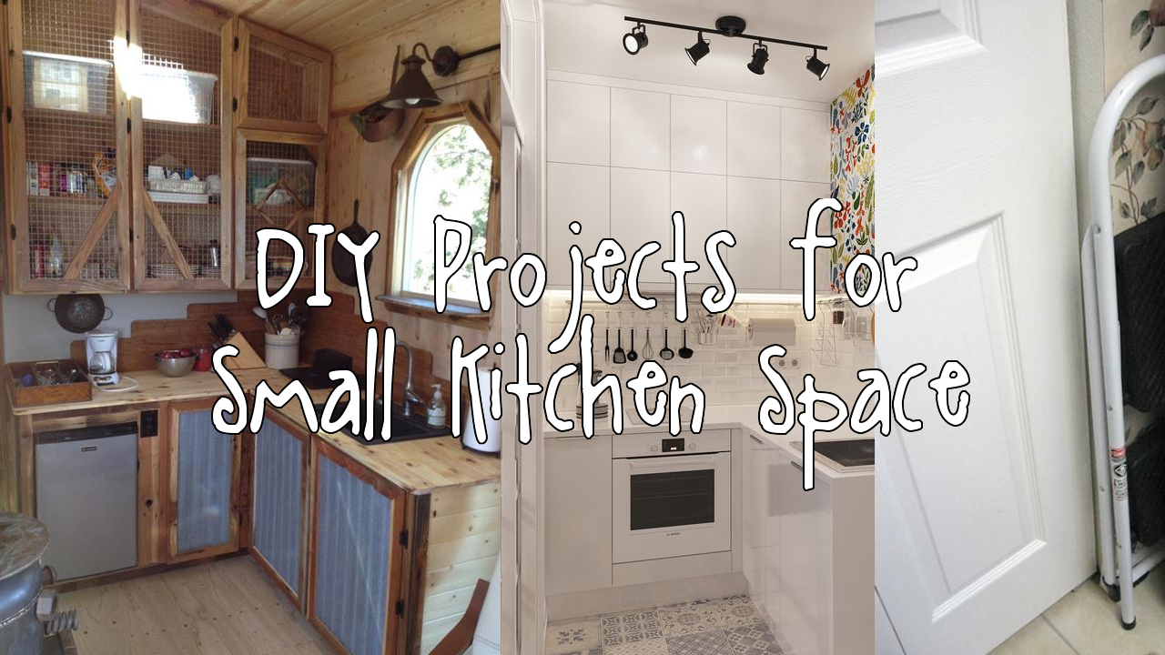 DIY Projects for Small Kitchen Space