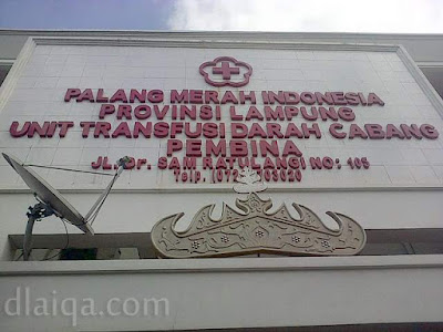 Palang Merah Indonesia (PMI) Provinsi Lampung