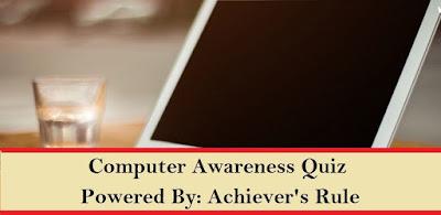 Computer Awareness Practice MCQ - Set 5