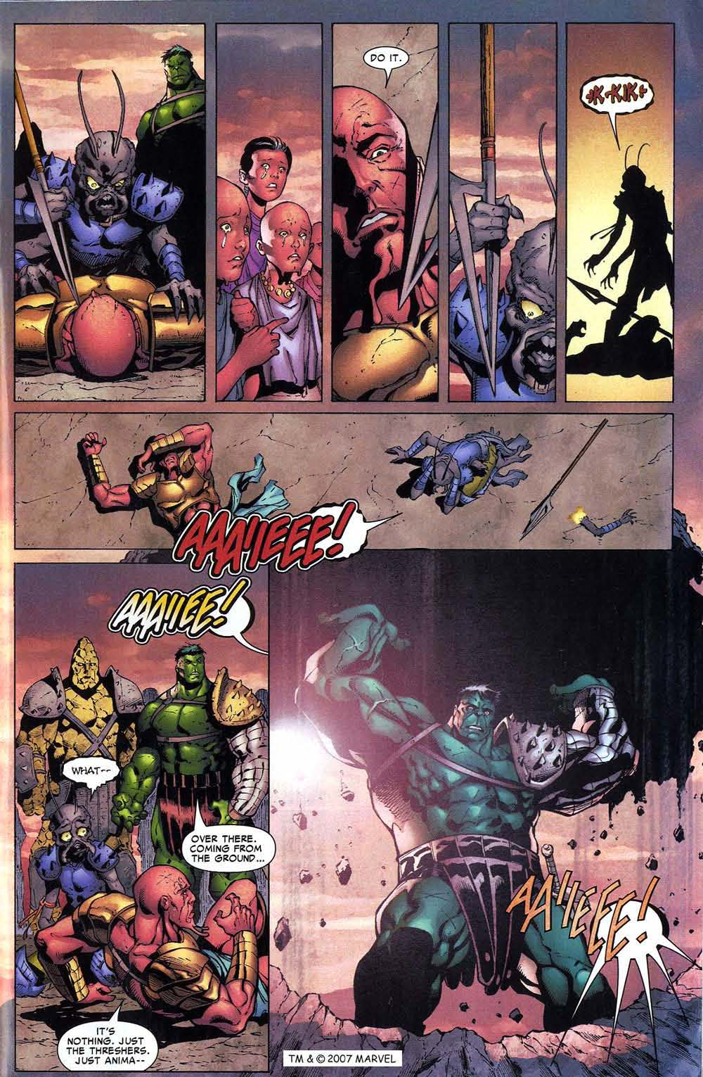 Read online The Incredible Hulk (2000) comic -  Issue #96 - 31