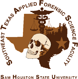 Southest Texas Applied Forensic Science Facility logo
