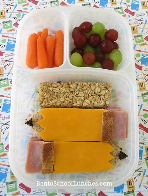 First Day Of Back To School Lunch. Pencil themed.