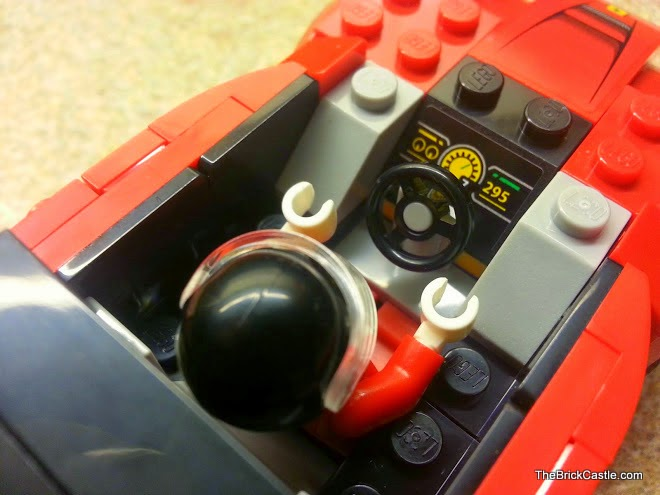 LEGO LaFerrari set 75899 Ferrari model car drivers seat