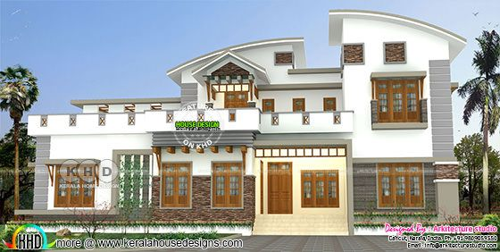 4 bedroom 3500 square feet modern house design