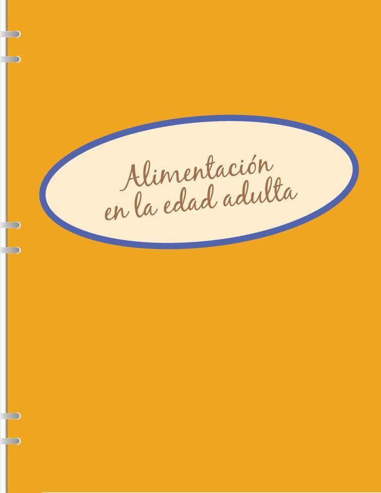 Alimentación en la edad adulta