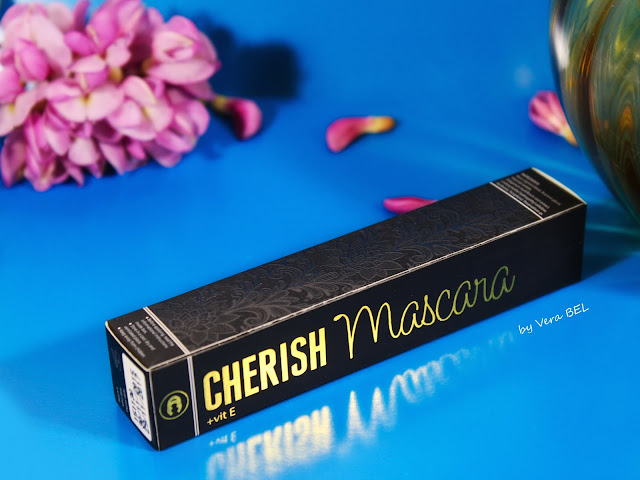 Tush dlya resnits s vitminom E Cherish Mascara, Mascara with Vitamin E Cherish Mascara