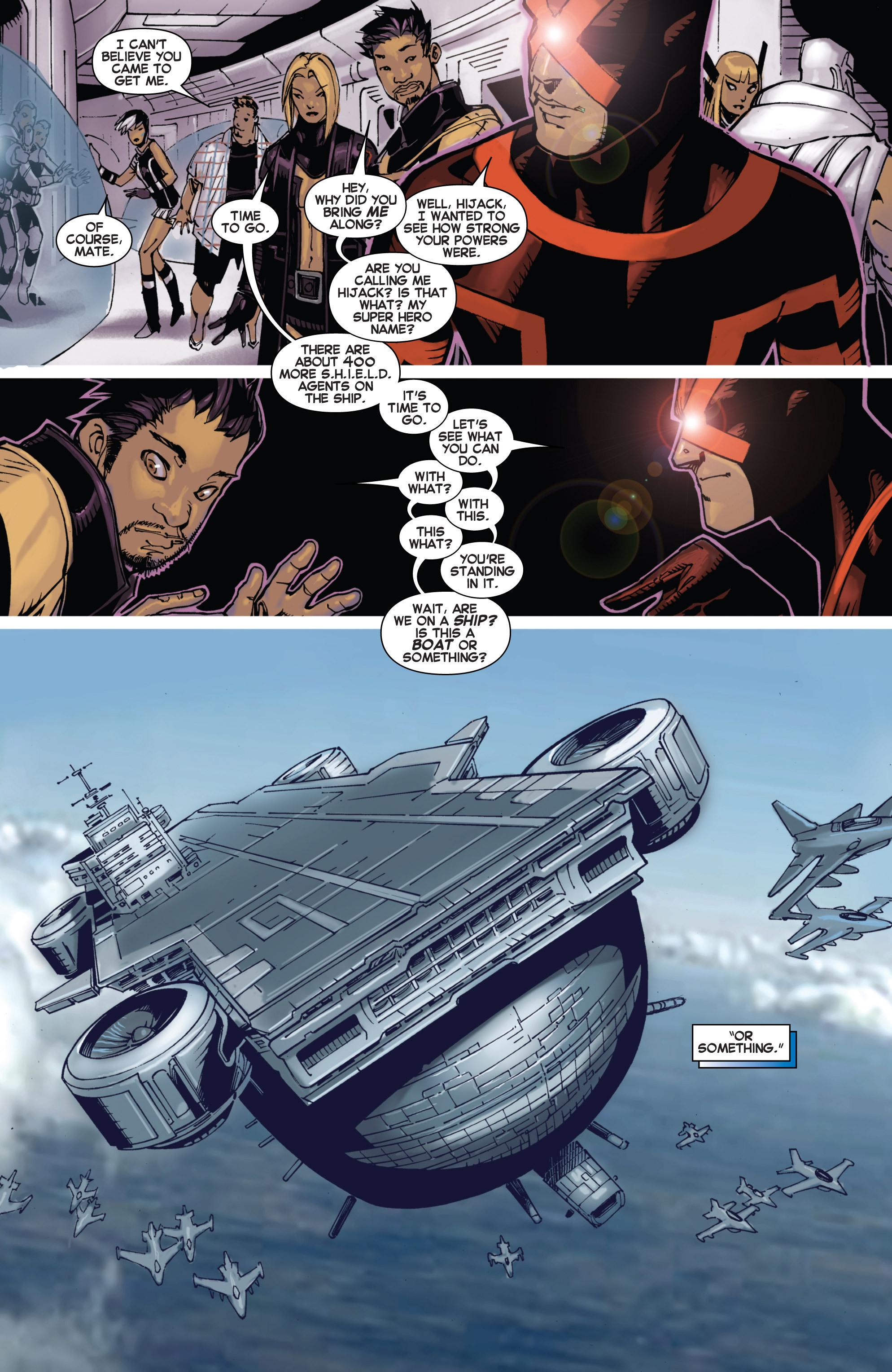 Read online Uncanny X-Men (2013) comic -  Issue # _TPB 2 - Broken - 76