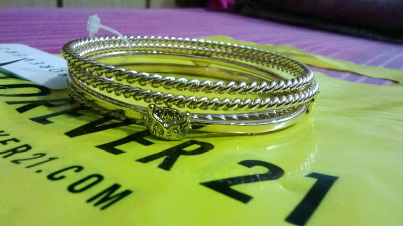 Forever 21 Braided Owl Bangle Set Review