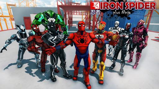 تحميل لعبة The Amazing Iron Spider v4.01 مهكرة للاندرويد وكاملة نقود لا نهاية أخر اصدار