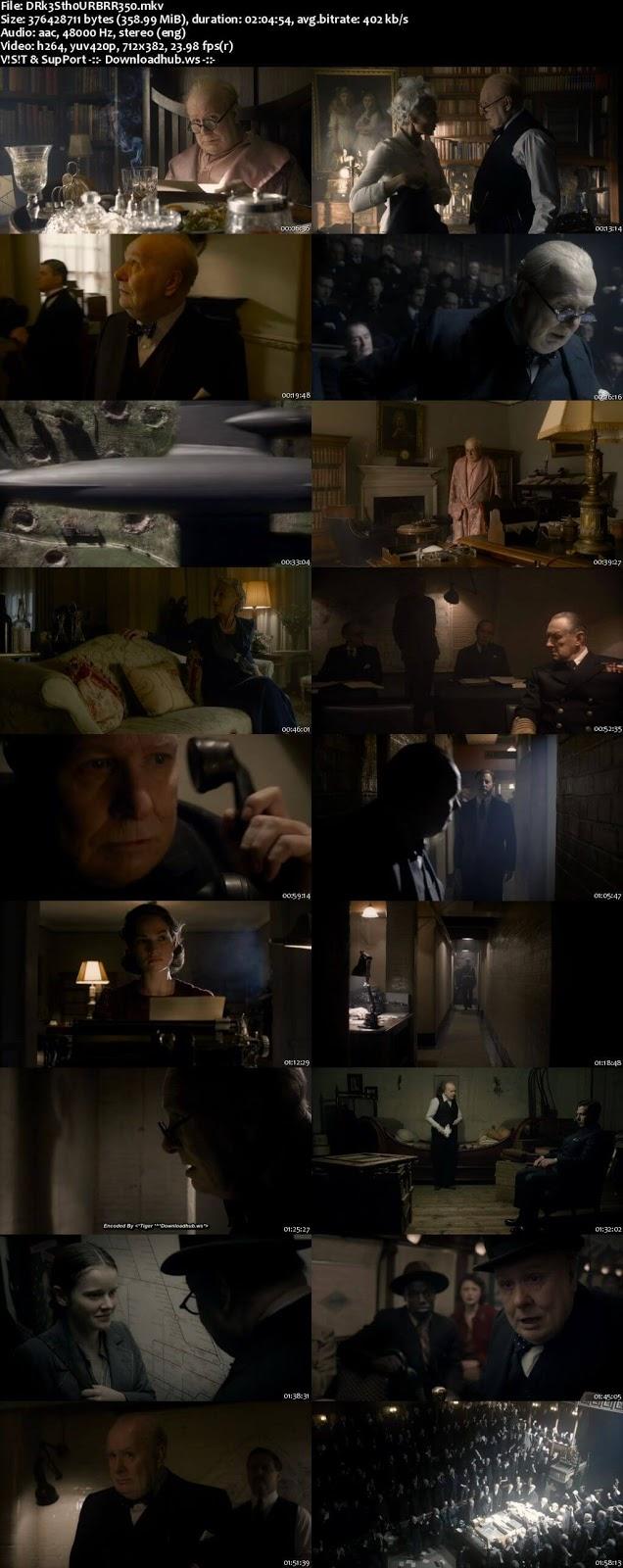 Darkest Hour 2017 English 480p BRRip ESubs
