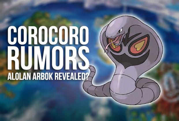 Rumor Pokémon Sol y Luna | Formas alola de Arbok, Electabuzz y Magmar