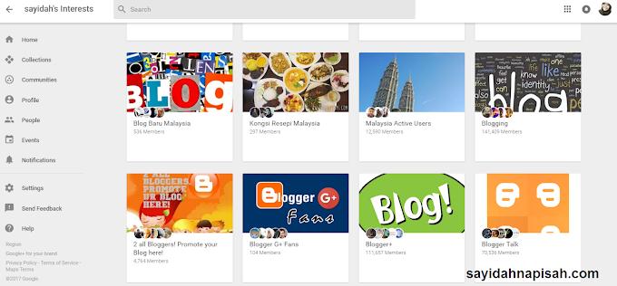 24 Group Community Google+ & Cara Ping Entri Di Community Google+