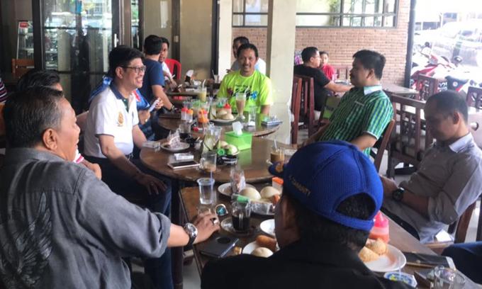 Pengurus dan Kader Parpol Pendukung IYL-Cakka Makin Kompak