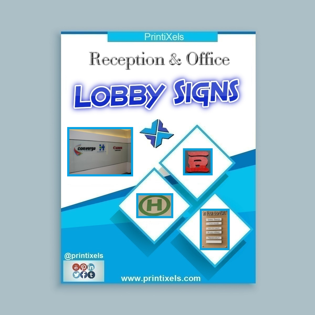 Reception & Office Lobby Signs