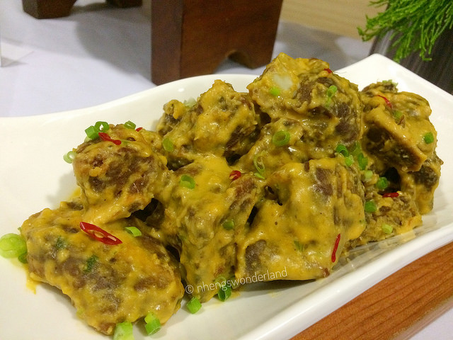 Salted Egg Spareribs