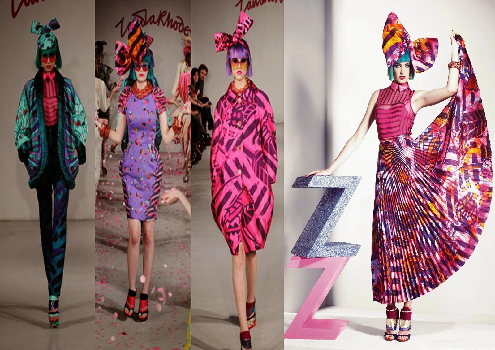 Quick Q&A with Hilary Alexander & Fashion Designer Zandra Rhodes ...