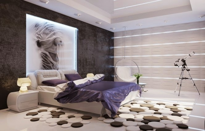 20 Bedroom designs and ideas in modern style Home and Decoration – Modern Bedroom Rugs