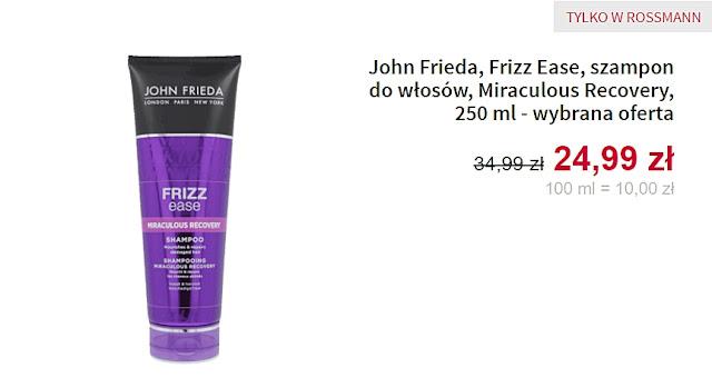 szampon do włosów John Frieda